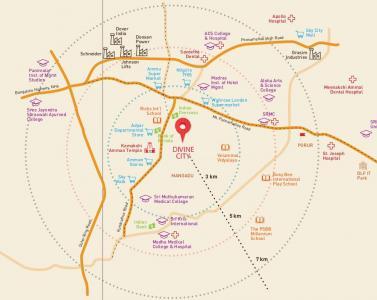 श्रीराम वैल्यू होम्स एट डिवाइन सिटी में खरीदने के लिए 0 - 590.0 Sq.ft 2 BHK अपार्टमेंट प्रोजेक्ट  की तस्वीर