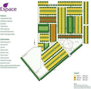Project Image of 2928 - 4076 Sq.ft 3 BHK Villa for buy in Unitech Espace Nirvana Country
