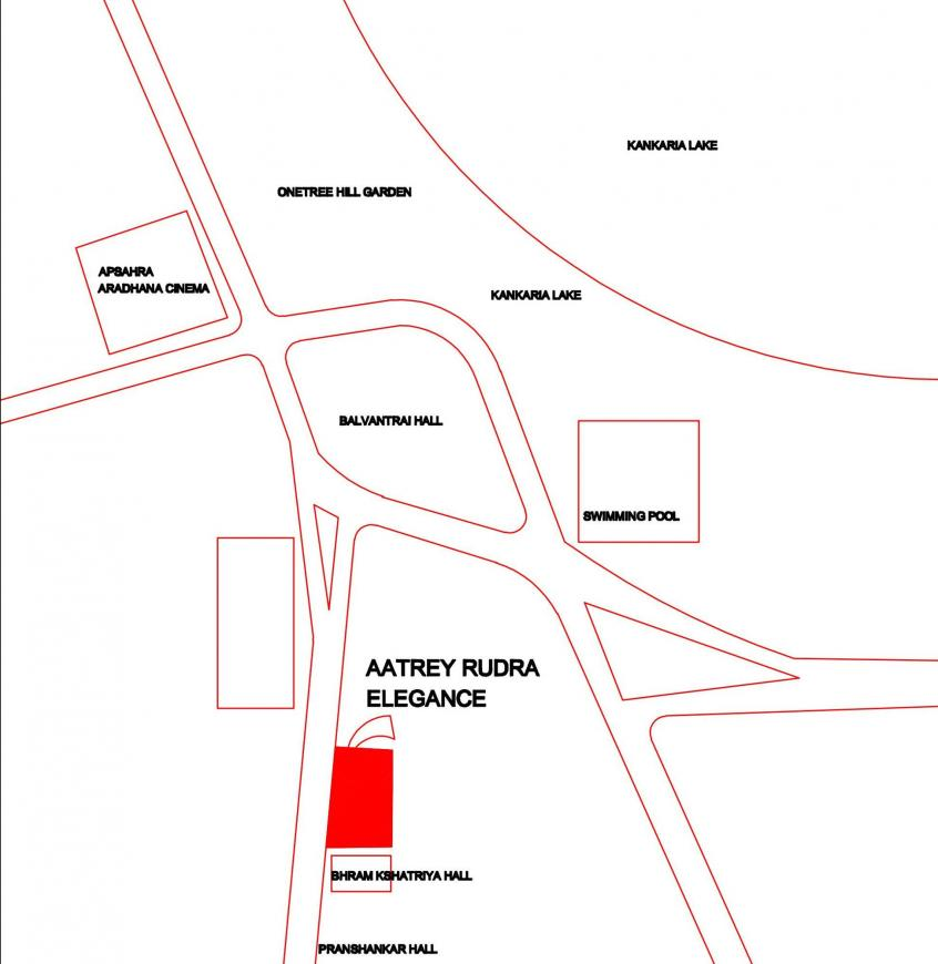 Project Image of 1908.0 - 2871.0 Sq.ft 3 BHK Apartment for buy in Aatrey Rudra Elegance