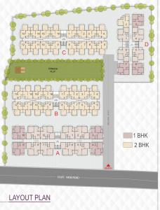Project Image of 540.0 - 864.0 Sq.ft 1 BHK Apartment for buy in RJD Raj Apartment