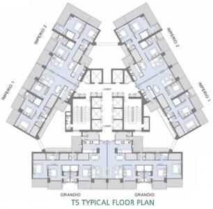 Gallery Cover Image of 360 Sq.ft 1 BHK Apartment for rent in L&T Crescent Bay T5, Parel for 18000