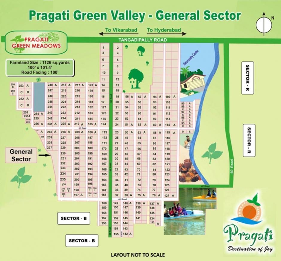 Project Image of 4499.96 - 17999.95 Sq.ft Residential Plot Plot for buy in Pragati Green Valley General Sector