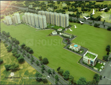 Gallery Cover Image of 1100 Sq.ft 3 BHK Apartment for buy in GLS Arawali Homes 2, Sector 4, Sohna for 2356000