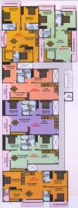 Gallery Cover Image of 1600 Sq.ft 3 BHK Apartment for rent in Vinayaka Heights, Dodda Banaswadi for 26000