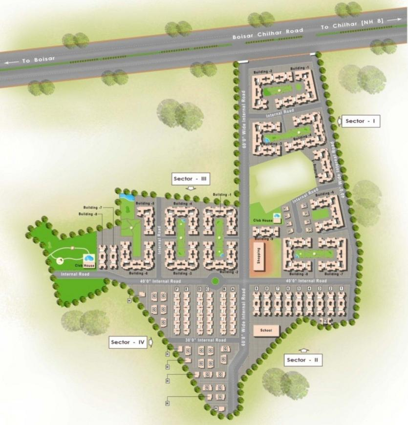 Project Image of 0 - 958.63 Sq.ft 4 BHK Villa for buy in Roop Park Phase 1 Villa
