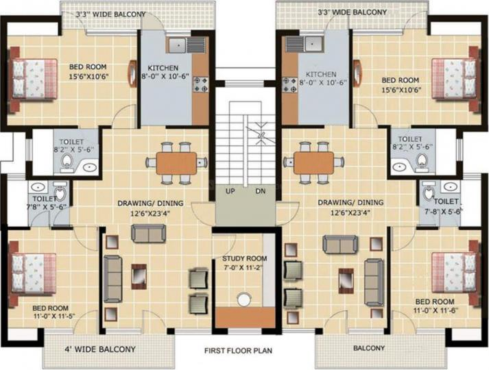 Project Image of 650.0 - 1510.0 Sq.ft 1 BHK Apartment for buy in Tomar Homes
