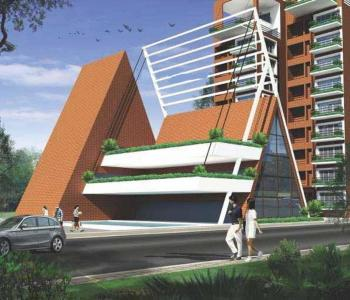 Project Image of 1995.0 - 2540.0 Sq.ft 3 BHK Apartment for buy in Golden Hanging Gardens
