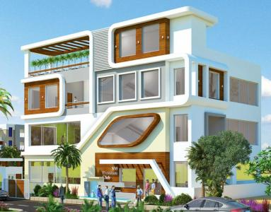 Gallery Cover Image of 2200 Sq.ft 3 BHK Villa for rent in  SM Avenue, Bandlaguda Jagir for 30000