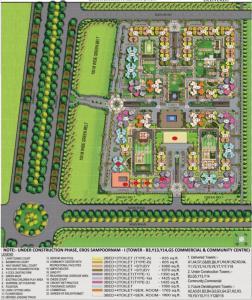 नोएडा एक्सटेंशन  में 3900000  खरीदें के लिए 3900000 Sq.ft 2 BHK अपार्टमेंट के प्रोजेक्ट  की तस्वीर