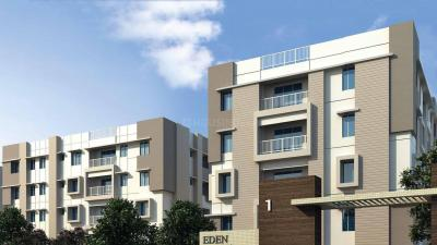 Gallery Cover Image of 1330 Sq.ft 3 BHK Apartment for rent in Eden Belvedere, Nayabad for 13000