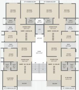 Project Image of 1080.0 - 1143.0 Sq.ft 2 BHK Apartment for buy in Shreeji Jaldeep Residency