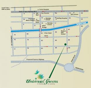 Project Image of 1084.0 - 1979.0 Sq.ft 2 BHK Apartment for buy in Universal Greens