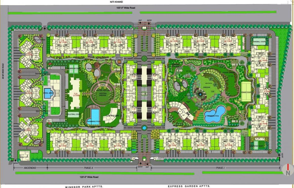 Project Image of 0 - 3200.0 Sq.ft 4 BHK Apartment for buy in ATS Advantage Phase 2