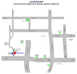 Project Image of 883 - 1300 Sq.ft 2 BHK Apartment for buy in SP Radhae Shyam