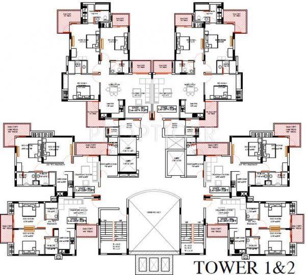 Project Image of 1035.0 - 1986.0 Sq.ft 2 BHK Apartment for buy in Ratan Pearls