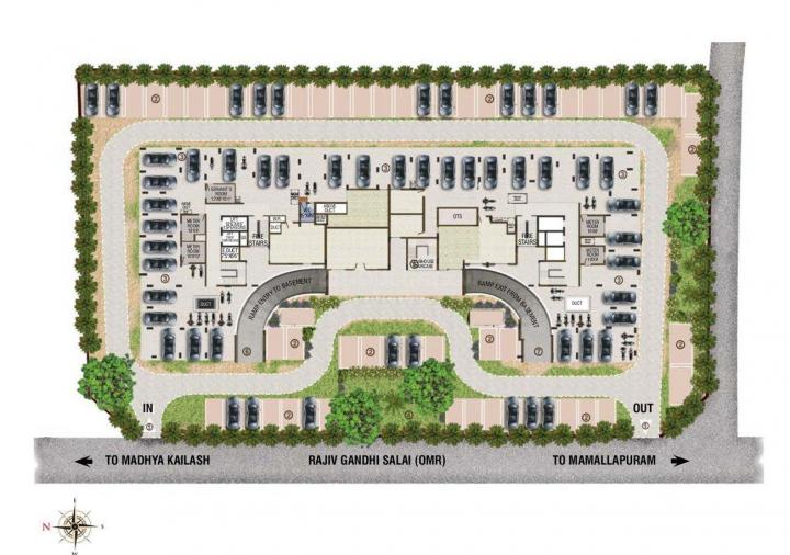 Project Image of 980.0 - 1450.0 Sq.ft 2 BHK Apartment for buy in Sri Crescent Heights