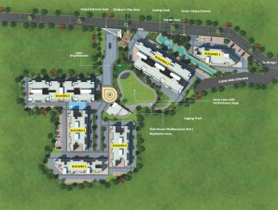 श्री एंटरप्राइजेज स्पर्श में खरीदने के लिए 420 - 604 Sq.ft 1 BHK अपार्टमेंट प्रोजेक्ट  की तस्वीर