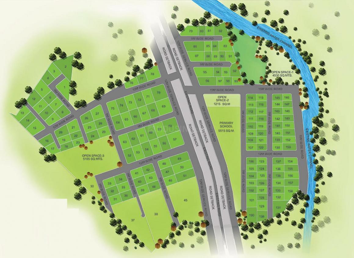Project Image of 1798.0 - 36597.0 Sq.ft Residential Plot Plot for buy in BLW Euro Ville Phase I Plot