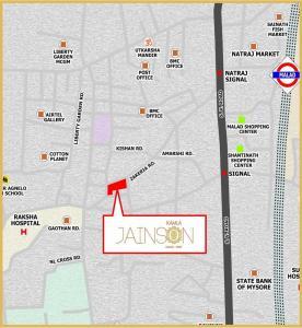 कमला जैनसन में खरीदने के लिए 421 - 883 Sq.ft 1 BHK अपार्टमेंट प्रोजेक्ट  की तस्वीर