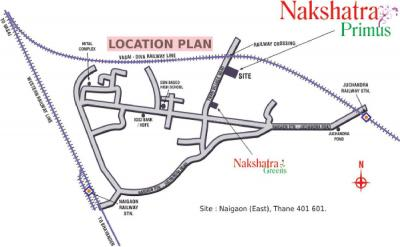 Gallery Cover Image of 550 Sq.ft 1 BHK Apartment for rent in JSB Nakshatra Primus, Naigaon East for 7000