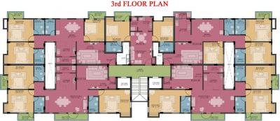 Project Image of 801.0 - 1732.0 Sq.ft 3 BHK Apartment for buy in Ramaniyam Benco