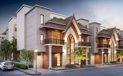 Project Image of 860 - 1494 Sq.ft 3 BHK Villa for buy in Shashwat ParkRest