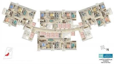 डीबी वन महालक्ष्मी फेज 4 में खरीदने के लिए 4 - 2330.0 Sq.ft 4 BHK अपार्टमेंट प्रोजेक्ट  की तस्वीर