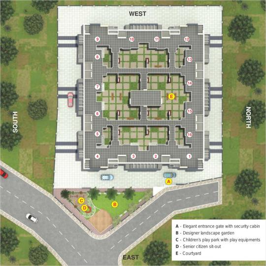 Project Image of 330.67 - 497.51 Sq.ft 1 BHK Apartment for buy in Polite Bhalchandra Puram