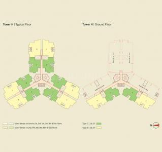 Gallery Cover Image of 945 Sq.ft 3 BHK Apartment for buy in Eden Solaris City Serampore, Serampore for 2553900