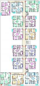 Gallery Cover Image of 1163 Sq.ft 2 BHK Apartment for rent in Vishnu Parimala Trinity, Kadubeesanahalli for 30000