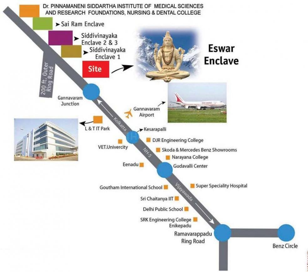 Project Image of 1800.0 - 4500.0 Sq.ft Residential Plot Plot for buy in Aditya Eswar Enclave
