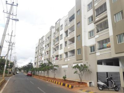 Gallery Cover Image of 1171 Sq.ft 2 BHK Apartment for rent in DSMAX SANTHRUPTHI, Jnana Ganga Nagar for 16000