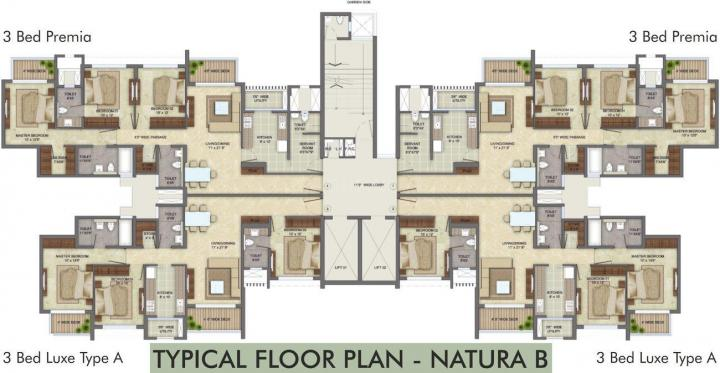 Project Image of 834.0 - 1746.0 Sq.ft 1 BHK Apartment for buy in Lodha Eternis