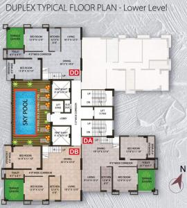 Project Image of 1480.0 - 1708.0 Sq.ft 3 BHK Apartment for buy in Martin Impala