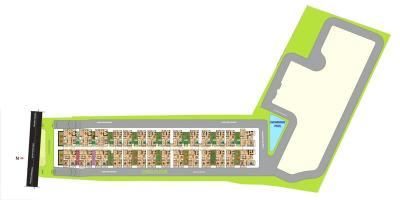 Gallery Cover Image of 1200 Sq.ft 2 BHK Apartment for rent in Srimitra Lifestyle, Kalkere for 20000