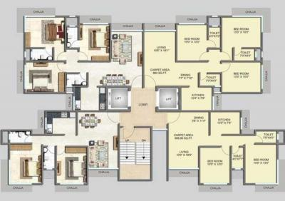 Project Image of 669.0 - 860.0 Sq.ft 2 BHK Apartment for buy in Spark Manjrekar Market