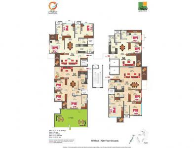 Gallery Cover Image of 535 Sq.ft 1 RK Apartment for buy in SNN Raj Etternia, Parappana Agrahara for 4000000