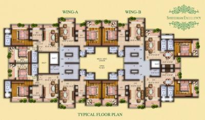 Project Image of 351 - 478 Sq.ft 1 BHK Apartment for buy in Shreedham Excellency