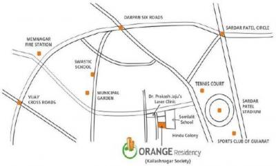 Project Image of 0 - 443.15 Sq.ft 4 BHK Apartment for buy in Orange Residency