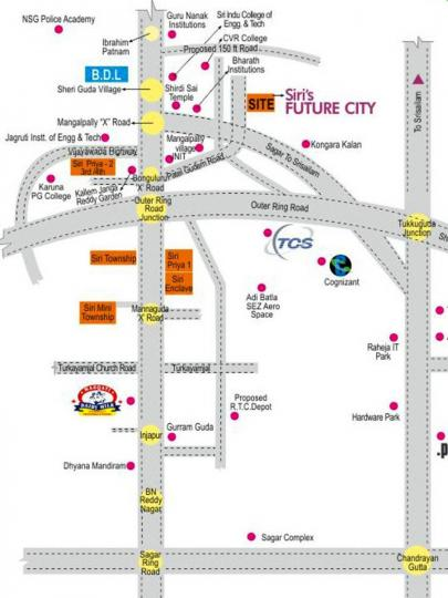 Project Image of 540 - 6651 Sq.ft Residential Plot Plot for buy in Siri Future City Phase 2