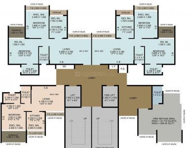 नील सिद्धि एनेक्सो में खरीदने के लिए 292.0 - 428.0 Sq.ft 1 BHK अपार्टमेंट प्रोजेक्ट  की तस्वीर