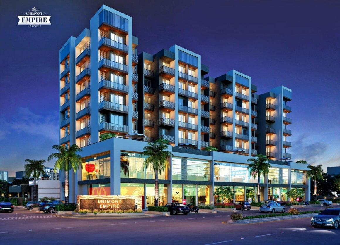 Project Image of 207.45 - 276.9 Sq.ft 1 RK Apartment for buy in Unimont Empire