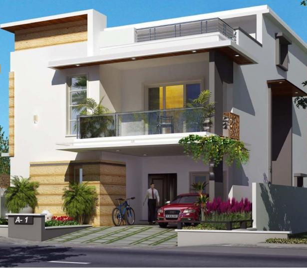 Project Image of 3264 - 3661 Sq.ft 3 BHK Triplex for buy in Vaishnavi Triumph Villas