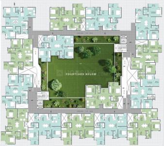 डीएनए ओपस में खरीदने के लिए 1157 - 1320 Sq.ft 2 BHK अपार्टमेंट प्रोजेक्ट  की तस्वीर
