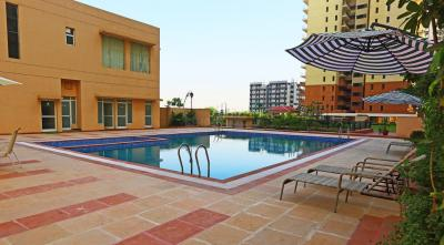 Gallery Cover Image of 1537 Sq.ft 3 BHK Apartment for rent in Piedmont Taksila Heights, Sector 37C for 20000