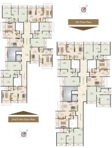 Project Image of 0 - 400.0 Sq.ft 1 BHK Apartment for buy in Pramukh Narayan
