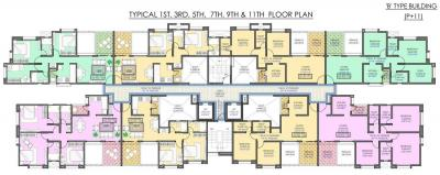 Project Image of 724.0 - 1082.0 Sq.ft 2 BHK Apartment for buy in Samruddhi Lake Tower