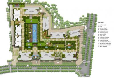 Project Image of 464.0 - 1561.0 Sq.ft 1 BHK Apartment for buy in Kalpataru Sector 5 Wing J And K