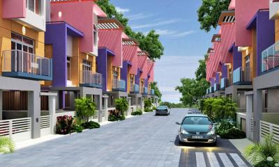 Gallery Cover Image of 1900 Sq.ft 3 BHK Villa for rent in Vaibhavs Tullia, Sithalapakkam for 22500