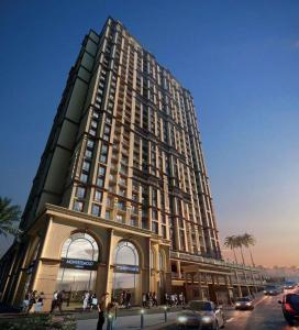 Gallery Cover Image of 700 Sq.ft 1 BHK Apartment for rent in Vijay Galaxy, Thane West for 18000